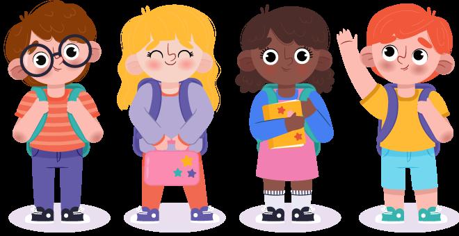 دوره های آموزش زبان برای کودکان - آموزشگاه ملل