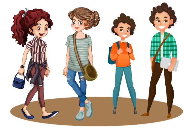 دوره های آموزش زبان انگلیسی برای نوجوانان و جوانان